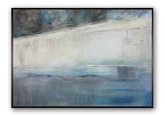 "Saatchi Art Artist Daniel Bautista; Painting, ""BLUE STREAM"" #art"