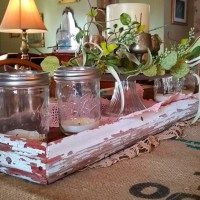 Barn Wood Centerpiece Tray March 20, 2016