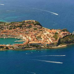 Portoferraio, Isola d'Elba, Tuscany - I just love Isola d'Elba, the first time I went there I must've been 7 or 8 and I had the best holiday ever. I went back there on another holiday when I was 13 and I had my first kiss with a boy from the Isola. I'm telling you, this place is something else ;)