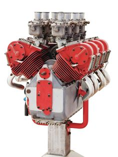 The story of the Ducati V8 F1 engine which never was, but somehow came to be.