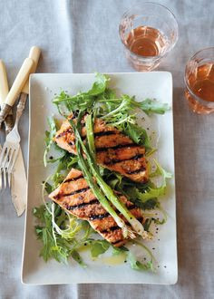 Grilled Salmon with Miso Glaze | Williams-Sonoma Taste