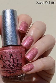 "OPI ""DS Reserve"" Really pretty color - perfect when topped with Essie Luxe effect ""a cut above"""
