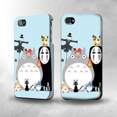 S1126 Totoro Mononoke Full Wrap Case Cover by CoolStyleClothing, $19.99
