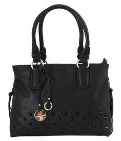 Dámská kabelka Marina Galanti s cvočky - černá barva | obujsi.cz - dámská, pánská, dětská obuv a boty online, kabelky, módní doplňky
