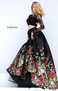 5a8869000c Sherri Hill  50599 Formal Fall Homecoming Dress  sherrihill  prom   homecoming  ipaprom