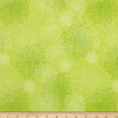 Art Gallery Elements Floral Kiwi from @fabricdotcom  Designed by Pat Bravo for Art Gallery Fabrics, this cotton print is perfect for quilting, apparel and home decor accents.  Colors include white and shades of green.  Art Gallery Fabric features 200 thread count of finely woven cotton.