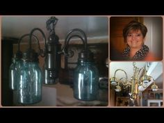 ▶ Mason Ball Jar Project - Primitive Chandelier - YouTube