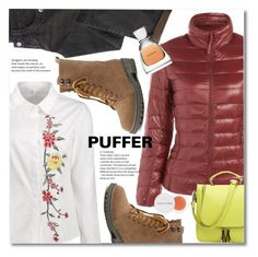 """""""Perfect Puffer Jackets"""" by svijetlana ❤ liked on Polyvore featuring Herbivore, Vera Wang, puffer and twinkledeals"""