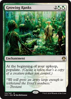 Growing Ranks - Return to Ravnica, Magic: the Gathering - Online Gaming Store for Cards, Miniatures, Singles, Packs & Booster Boxes Mtg Hydra, Magic The Gathering Karten, Mtg Decks, Pokemon, White Magic, Green Magic, Magic Cards, Wizards Of The Coast, Tabletop Games