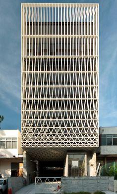 facade. Pencil Factory.