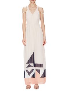 Marquee Parade Halter Maxi Dress from French Connection on Gilt