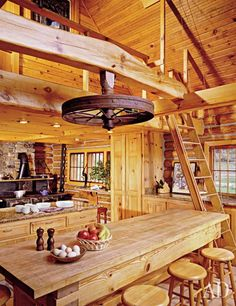Log CαᏰᎥη 倫 Cozy/ Architectural Digest. Carole King's cabin