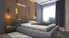 Apartment in Azadliq avenue.Bedroom on Behance