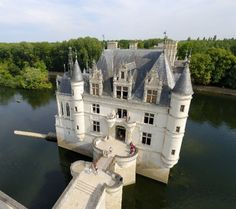 Island Castle, Chenonceau, France / home sweet home!