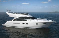 The latest Princess Flybridge yacht