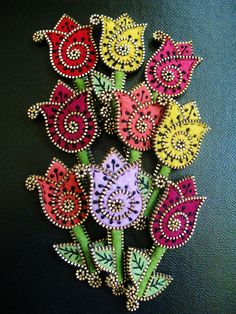 Tulip brooches | Flickr - Photo Sharing!