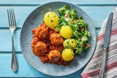 Boulettes à la sauce tomate et au poivron