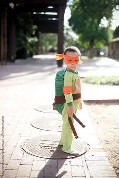 easy teenage mutant ninja turtle costume costumes for boysdiy halloween - Teenage Mutant Ninja Turtles Halloween Costumes For Kids