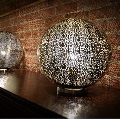 Metal Lamp // Round