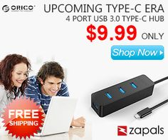 zapals upcoming type c era 4 port USB 3.0 type C Hub  shop now  {affiliate link}