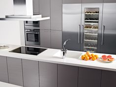 Kaisla - harmaa 2. Kitchen Sets, Kitchen Dining, French Door Refrigerator, French Doors, Building A House, New Homes, Kitchen Appliances, Koti, Kitchen Designs