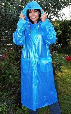 Vinyl Raincoat, Pvc Raincoat, Plastic Raincoat, Raincoat Outfit, Raincoat Jacket, Yellow Raincoat, Best Rain Jacket, Rain Jacket Women, Periwinkle