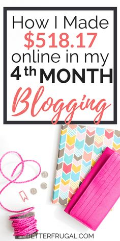 Blogging has opened up a world of opportunities for me! There are tons of ways to make money blogging. In August, I made over $500 from freelance writing and affiliate marketing. Get the full details in the report! make money blogging | blogging for beginners | income reports 2017 | income reports blogger | blog for money | blog tips