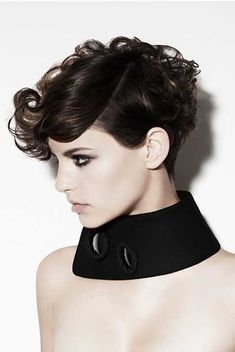 Short Curly Women's Hairstyles I'm in love with this style!!!