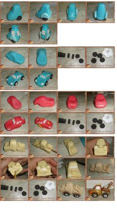 .Cars Lightning McQueen Mater, etc small toppers