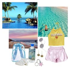 """Nymphet in the caribbean"" by luciadollface ❤ liked on Polyvore featuring Ultimate, Wet Seal, ASOS and Aurélie Bidermann"