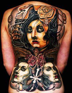 Tattoo Artist - Adriaan Machete