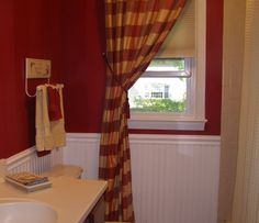 FRENCH COUNTRY BATH | Country French Bathroom, More red and yellow in my bathroom ...