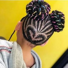 braids with beads hairstyles for african american black little girls kids hairstyle kids hairstyles little girls hairstyles black girls hairstyles afro braided braided hairstyles Easy Little Girl Hairstyles, Black Kids Hairstyles, Super Easy Hairstyles, Braided Hairstyles Tutorials, Headband Hairstyles, Hair Styles 2016, Curly Hair Styles, African American Kids Hairstyles, Track Hairstyles