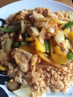 Salt, Pepper & Chilli Chicken ~ Slimming World Friendly - You And Me Are Family Slimming World Fakeaway, Slimming World Dinners, Slimming World Recipes Syn Free, Slimming World Diet, Healthy Eating Recipes, Veggie Recipes, Cooking Recipes, Salt And Chilli Chicken, Pepper Chicken