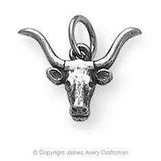 Need this! James Avery Longhorn charm Could add it to my Tiffanys charm bracelet lol