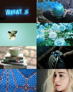 Hogwarts House Aesthetics ~ Ravenclaw  (Harrypottersection.tumblr.com)