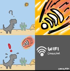 Funny Wi-Fi killed the dinosaurs =))))))) The Effective Pictures We Offer You About Memes para contestar A quality picture can tell you many things. Crazy Funny Memes, Really Funny Memes, Stupid Funny Memes, Wtf Funny, Funny Relatable Memes, Hilarious, Memes Humor, Shrek Memes, Meme Meme