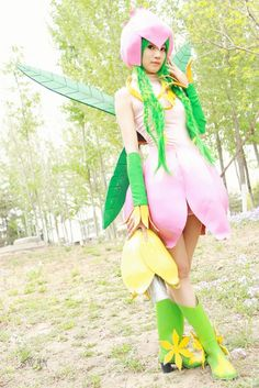 lillymon cosplay - THANK YOU FOR SOMEONE FINALLY POSTING DIGIMON STUFF!!!!!