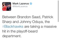 lol true that. The playoff-beard season of 2016 shall be a dreadful one!
