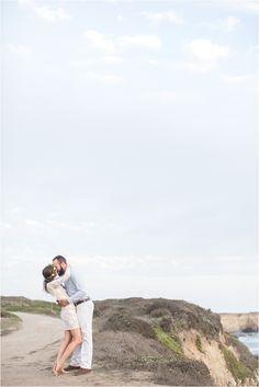 Santa Cruz Engagement Session | Wilder Ranch | Oceanfront | Cute Couples Pose |  Monterey Wedding Photographer | Laura Hernandez Photography