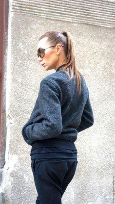 5392b12498d Купить или заказать Куртка Wool Bomber в интернет-магазине на Ярмарке  Мастеров. Великолепный
