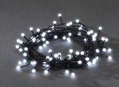 Konstsmide LED Berry Christmas Lights / Outdoor or Indoor / 80 Purple Diodes / Black Cable String Lights Christmas Lights, Christmas Wreaths, Ornament Wreath, Led Lamp, Light Purple, Fairy Lights, String Lights, Outdoor Lighting, Berries