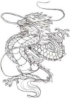 tattoo CHINESE DRAGON by Anarchpeace on DeviantArt