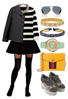 """""""///"""" by lunaashton ❤ liked on Polyvore featuring ASOS, Max&Co., The Kooples, Chanel, Gucci, Versace, BCBGMAXAZRIA, Dolce&Gabbana, Aurélie Bidermann and Halcyon Days"""