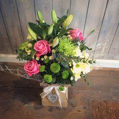 pink floralbox