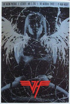 Van Halen w/ Ky-Mani Marley- silkscreen concert poster (click image for more detail) Artist: Todd Slater Venue: Wachovia Center Location: Philadelphia PA Concert Date: & Edition: signe Concert Flyer, Concert Posters, Van Halen 5150, Rock Band Posters, Famous Guitars, Pop Posters, Eddie Van Halen, American Tours, Heavy Metal Music