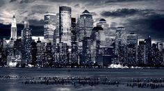 city for large desktop 2880x1606