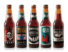 Student project where North Coast Brewing Co's logo and packaging was redesign. I like the result. Do you?