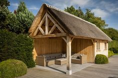 cottage berging met loungeruimte | Bogarden