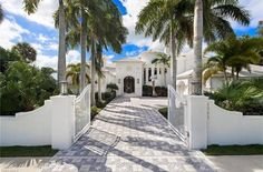 One of my favorite projects we have done is up for sale For sale: $5,495,000. This spectacular waterfront home features 6686 sq ft, 4 bedrooms, 5.2 baths, office, theater and loft plus family room in dramatic Art Deco flair.  It is located in the prestigious estate area of Marco Island and situated on 1.18 acres on Fredrick Bay with 139 ft of direct access waterfront and captivating views of the Bay out to Caxambas Pass.This unique property offers a stunning tropical garden with paver…
